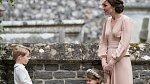 Kate Middleton s dětmi na svatbě své sestry Pippy.