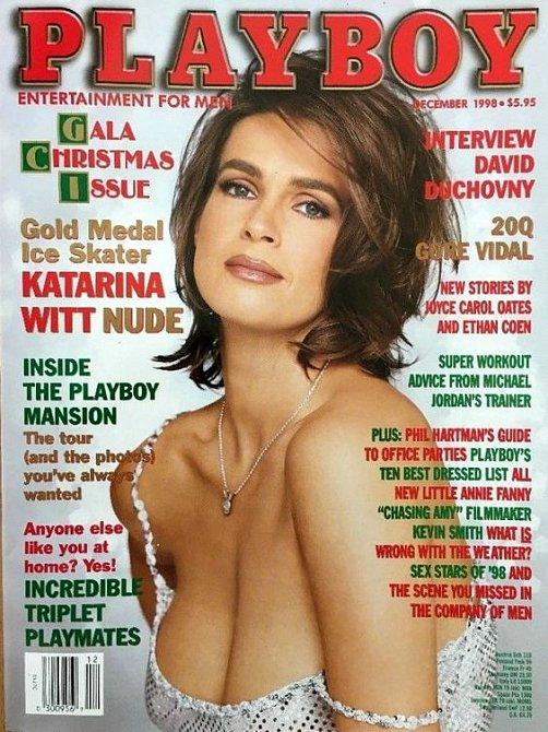 Krasobruslařka Katarina Witt neodolala nabídce pro Playboy. Její zralá krása způsobila kolaps a časopis se vyprodal během hodiny.