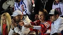 Inna Puhajková je velkou hokejovou fanynkou