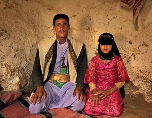 Ilustrační foto - novomanželé v Jemenu