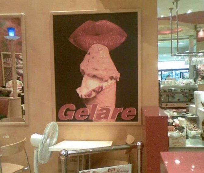 Reklama na zmrzlinu. Vážně, přísaháme.