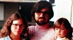 Rodina Michaela Carsona, první manželka a malá Jenn.