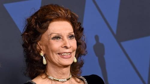 Legenda italského filmu, světoznámá herečka Sophia Loren