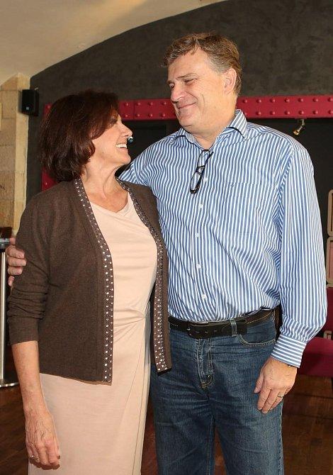 Marie Rottrová se tajně vdala za dlouholetého partnera Milana Říhu.