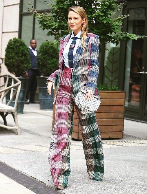 Blake Lively je módní ikona.