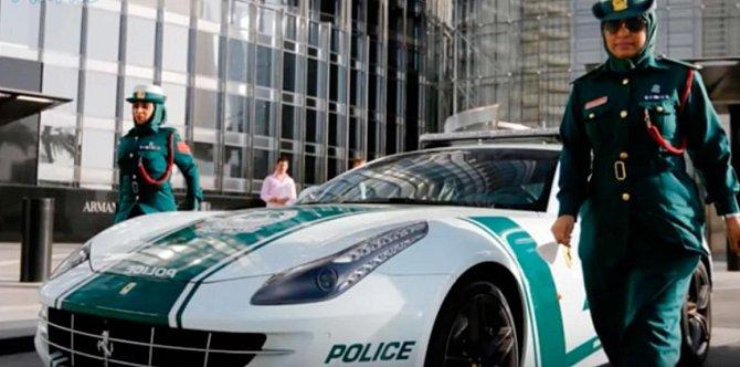 Místní policie má auta za miliony