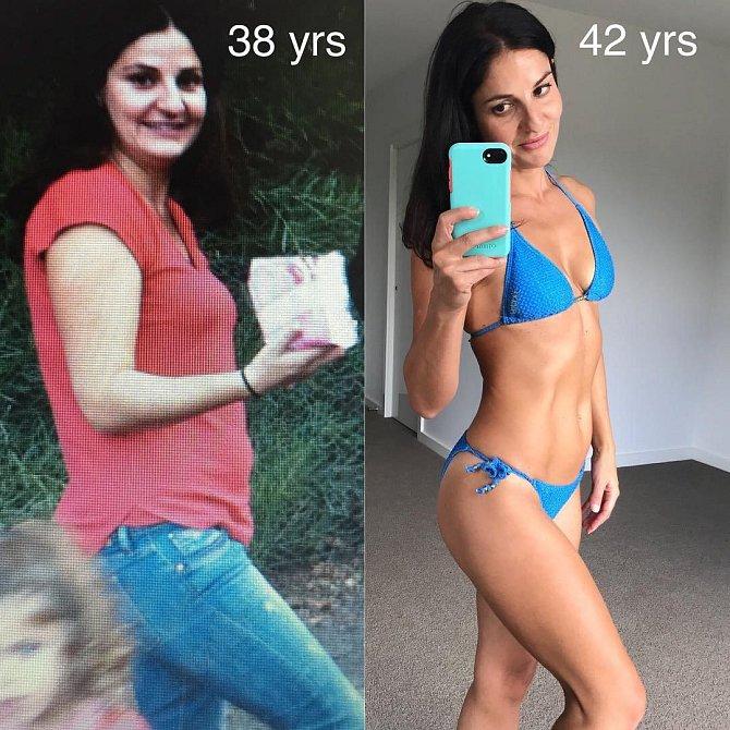 Joanne nejraději běhá a nebo posiluje s vahou svého těla.