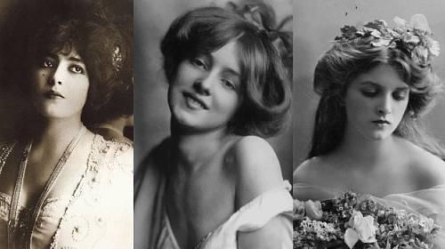 Nejkrásnější ženy přelomu 19. a 20. století