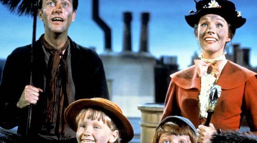 <p>Kouzelná guvernantka Mary Poppins (Julie Andrewsová) umí čarovat a dokáže různé neuvěřitelné věci
