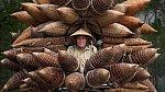 Převoz rybářských košů