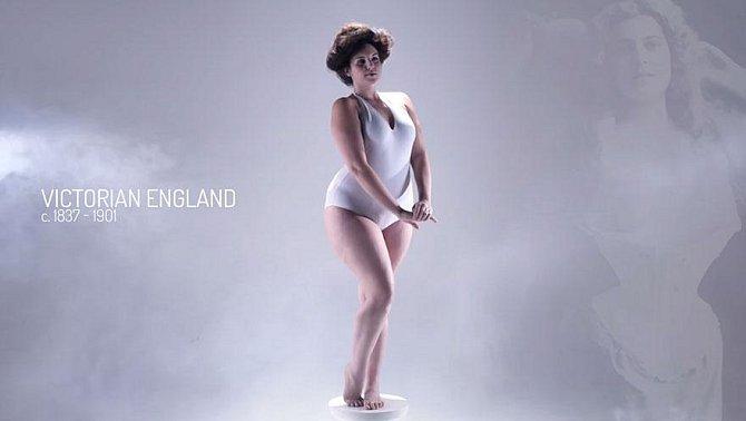 Jak vypadalo ideální ženské tělo v jednotlivých historických epochách. Najdete se v nějaké?