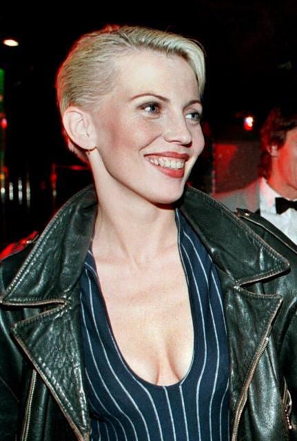 Kateřina Kornová v devadesátých letech.