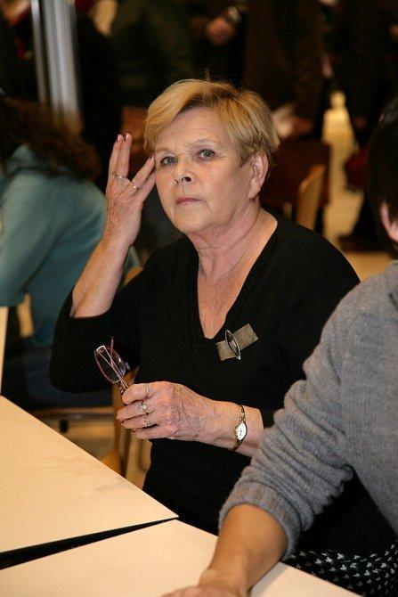 Ivanka Devátá je typ dámy, co na srdci, to na jazyku.
