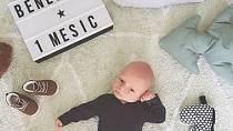 Modelka a moderátorka Gabriela Lašková porodila v dubnu syna, kterého s manželem pojmenovali Benedikt.