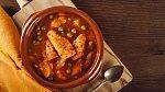 Hutná rybí polévka s kapary