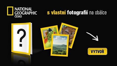Vytvořte si National Geographic s vlastní fotografií na obálce