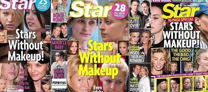 Make-up je silnou zbraní hereček všech žánrů!