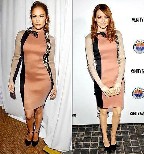 Jennifer Lopez a Emma Stone