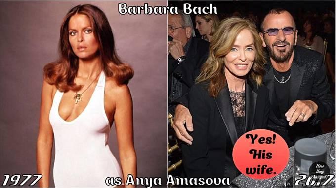 Herečka Barbara Bach coby Aňa Amasovová