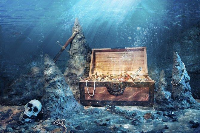 Brazilci posílají loď se šperky na moře.