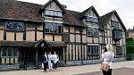 Rodný dům Williama Shakespeara.