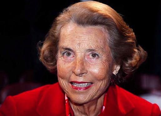 Liliane Bettencourt - 36,4 miliard dolarů - Liliane je majitelkou kosmetické firmy L´Oreal, kterou zdědila po svém otci. V současnosti je její velkou vášní charita.