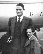 Gregory Peck se synem Jonathanem