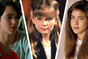 První role hereckých hvězd