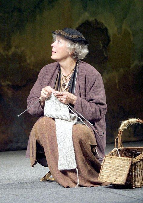Květa Fialová milovala divadlo.