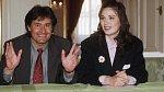 1994 - Ivana se svým prvním manželem Danielem Ubaudem, který je otcem její jediné dcery Daniely.