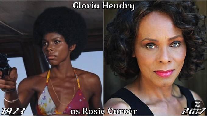 Herečka Gloria Hendry coby Rosie Carver