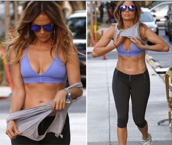 Jennifer Lopez je sexy kost