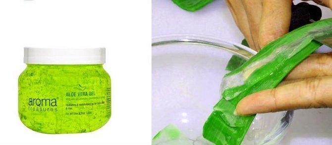 Aloe vera je zázrak z přírody. Dodá pevnost jemné kůži, kterou zároveň i vyživí. Pořiďte si gel obsahující aloe vera, případně není problém rostlinku pěstovat.