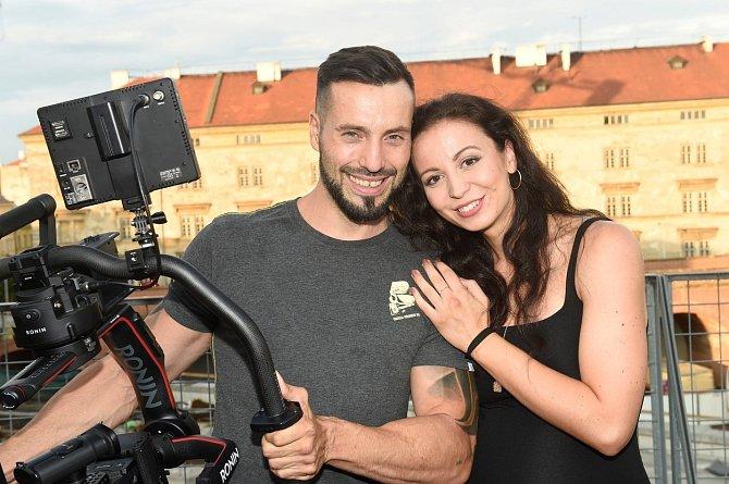 Václav Noid Bárta a Eliška Grabcová společně vychovávají dceru Elišku.