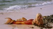 Hannah Daryl si zahrála mořskou pannu.