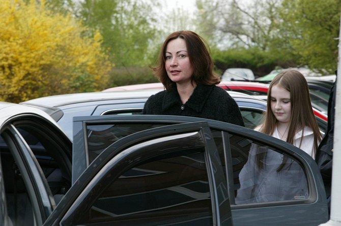 Ivana Zemanová s dcerou Kateřinou
