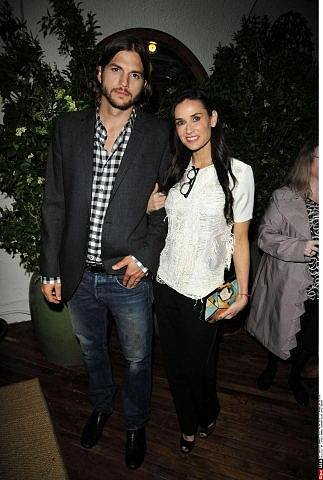 S manželkou Demi Moore
