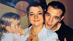 Magali Jaskiewicz a Jonathan George s dcerou v době před svatbou