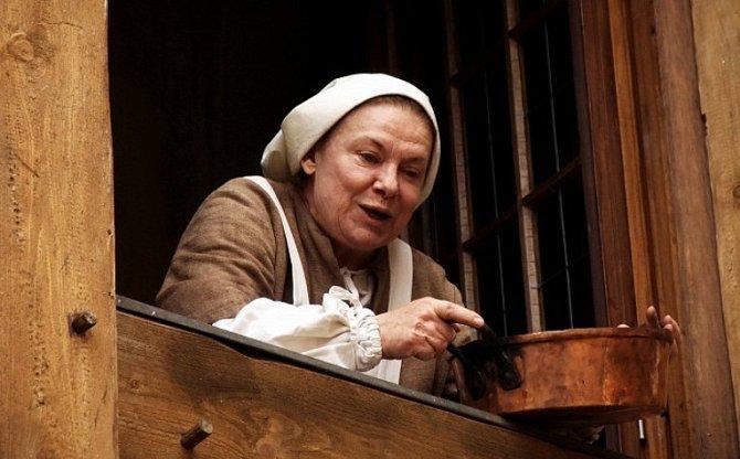 Milena Dvorská ve filmu Ať žijí rytíři!