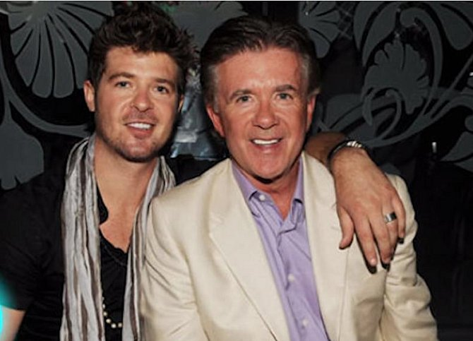 Alan Thicke a Robin Thicke