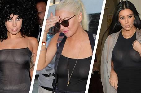 Tyto celebrity chodí i v běžném životě bez podprsenky