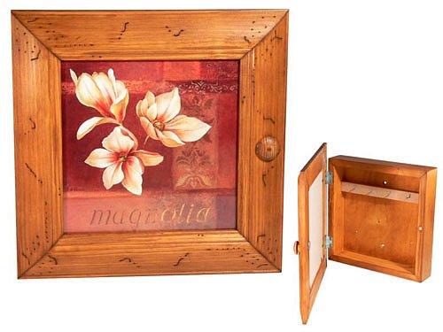 Dřevěný box na klíče, díky němuž klíče neztratíte a zároveň bude i skvělou dekorací.