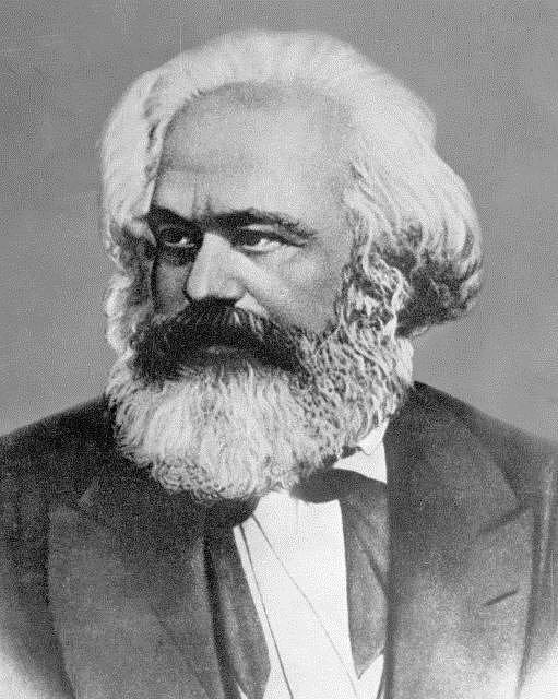 Karl Marx, německý myslitel a filosof