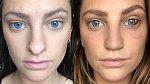 Rhiannon Langley před a po.