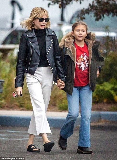 Dcera Matilda je mu hodně podobná.
