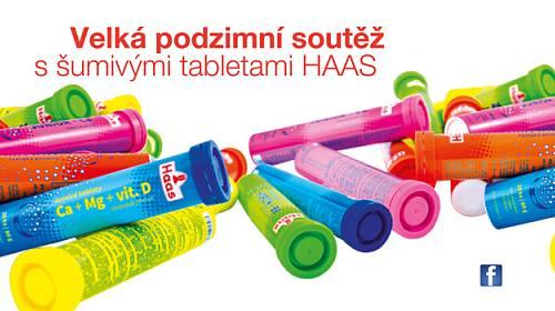 Šumivé tablety HAAS