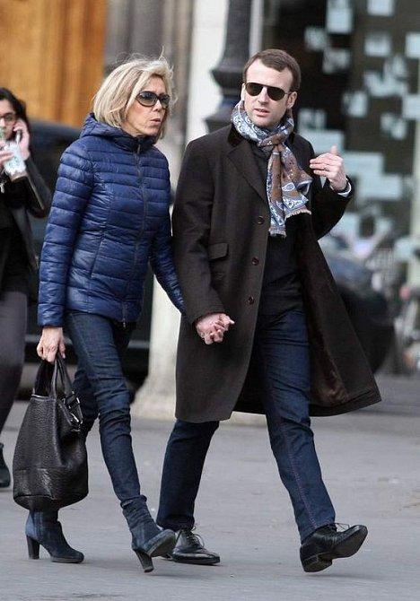 Brigitte Macron s manželem