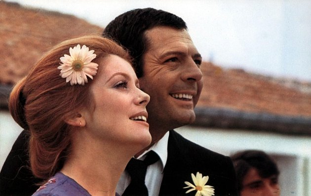 Catherine Deneuve s Marcellem Mastroiannim