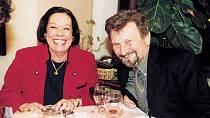 Yvonne Přenosilová s Janem Cimickým