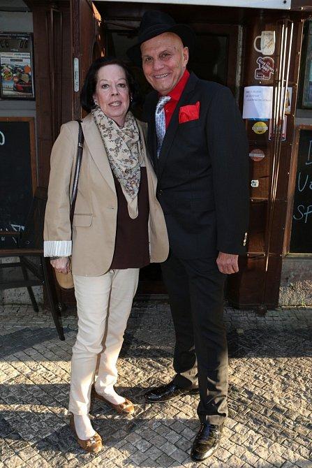 Yvonne Přenosilová s Janem Přeučilem